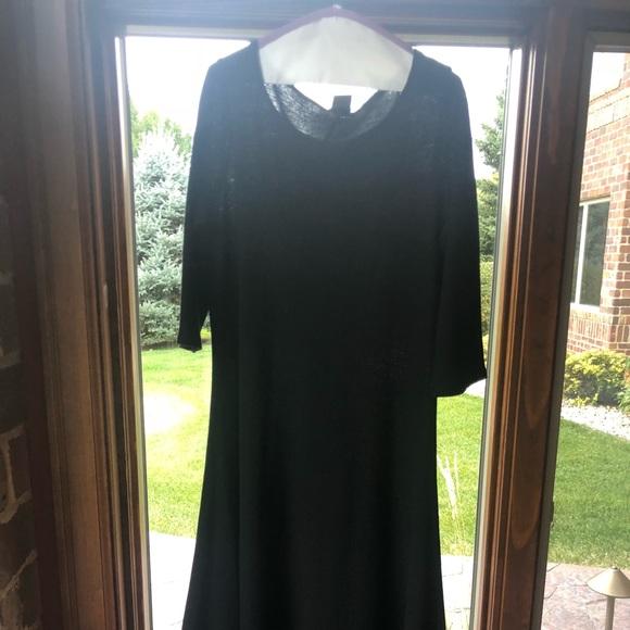 Eileen Fisher Dresses & Skirts - Long black Eileen Fischer dress